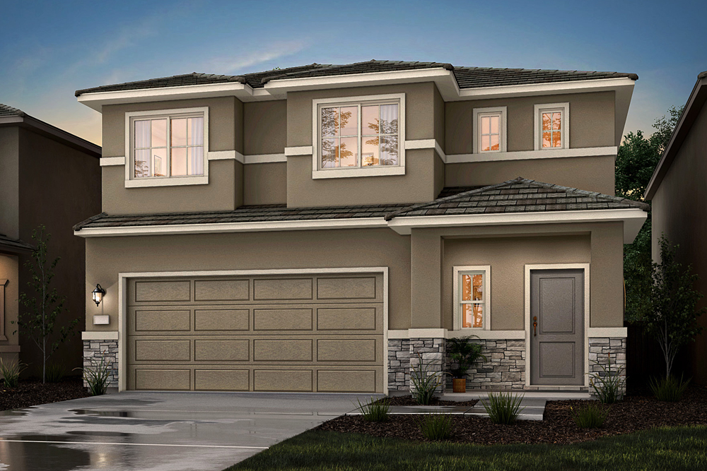 Riverland Homes Properties - 1670 sqft -The Gibson at Rio Villas in Sacramento, CA